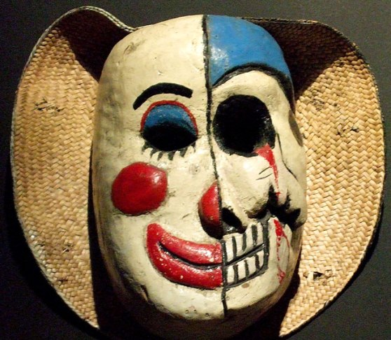 Duality-Mexican Mask