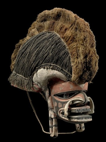 Mask, Neuirland | © Staatliche Museen zu Berlin, Ethnologisches Museum / Claudia Obrocki; CC NC-BY-SA