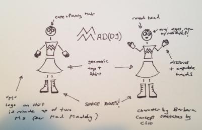 Mad Maddy, Barbara Lüneburg, Clio Montrey