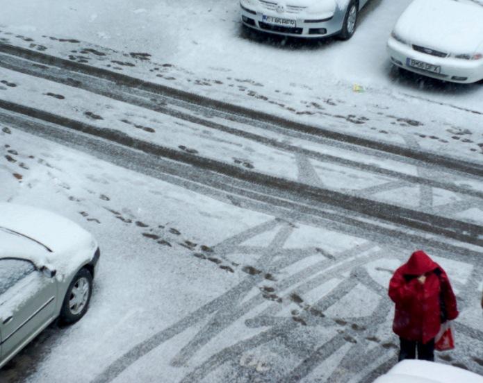 Sabina Ulubeanu Romania winter scene