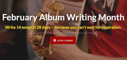 February Album WritingMonth