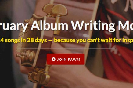 February Album Writing Month