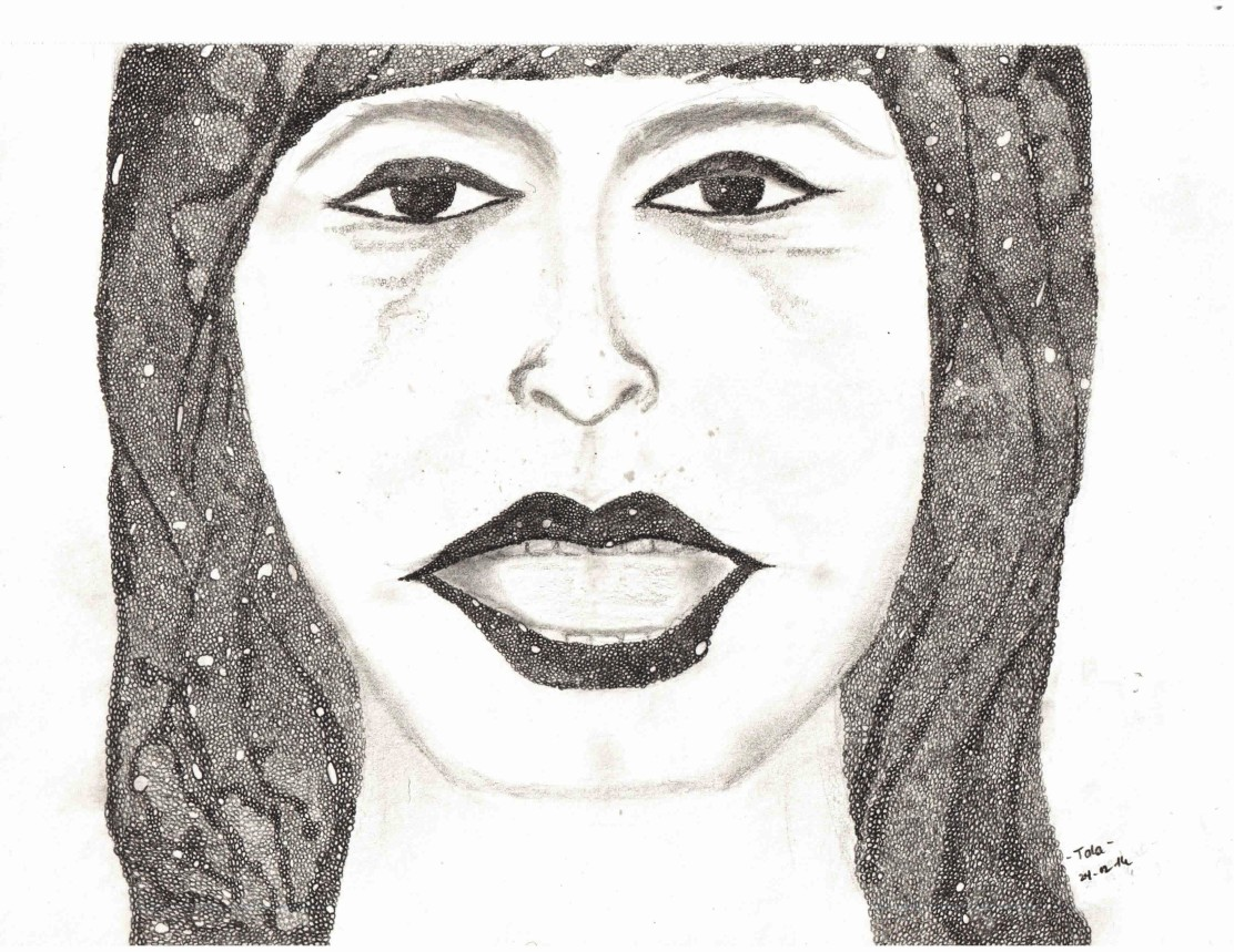 Portrait drawn by Feliz Anne Reyes Macahis