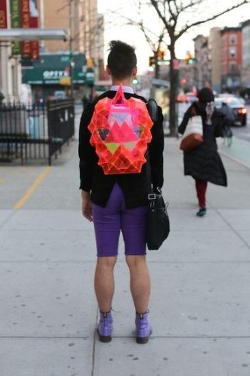 Rocket Backpack Man