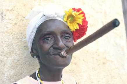 Cuban Woman and Images ofSantería